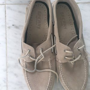 Sperry Top-Sider size 12 AU colour Cement NEW